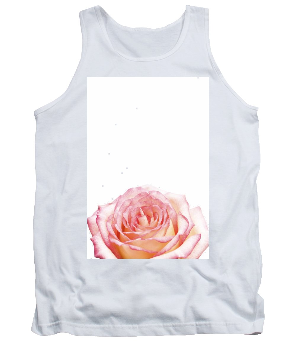 Copy Space Tank Top featuring the photograph Rose by Chris Knorr