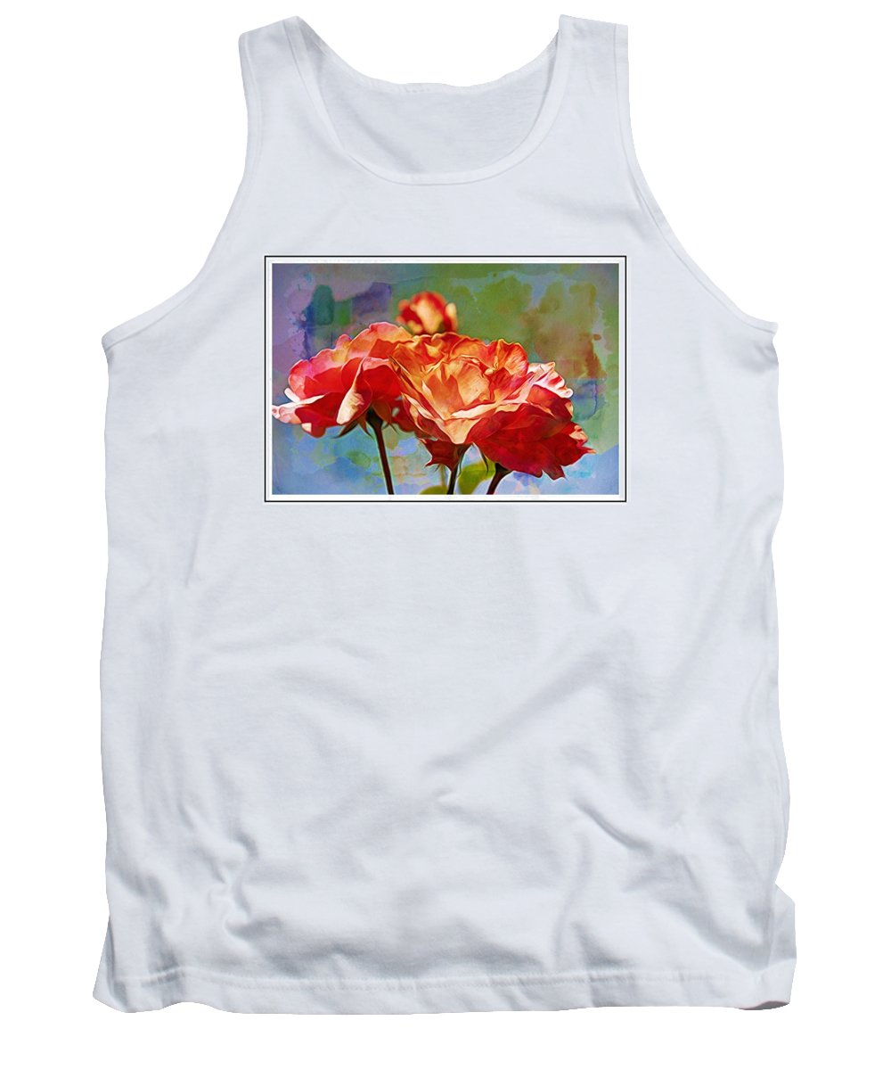 Rose Tank Top featuring the photograph Rose Colours by Alice Gipson
