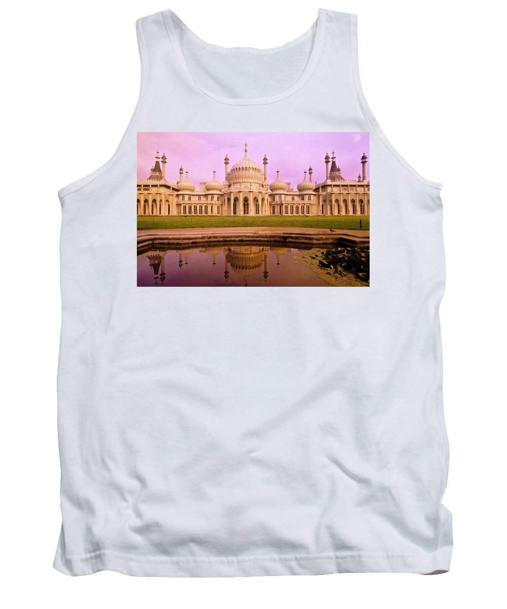 Architectural Exterior Tank Top featuring the photograph Royal Pavilion In Brighton England by Bilderbuch