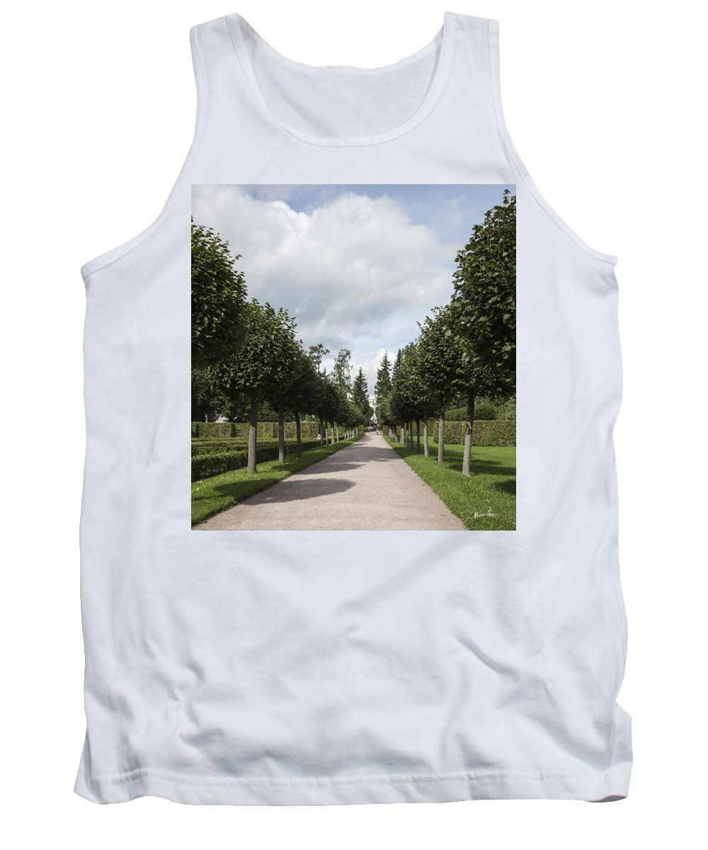 Trees Tank Top featuring the photograph Russian Garden - St. Petersburg - Russia by Madeline Ellis