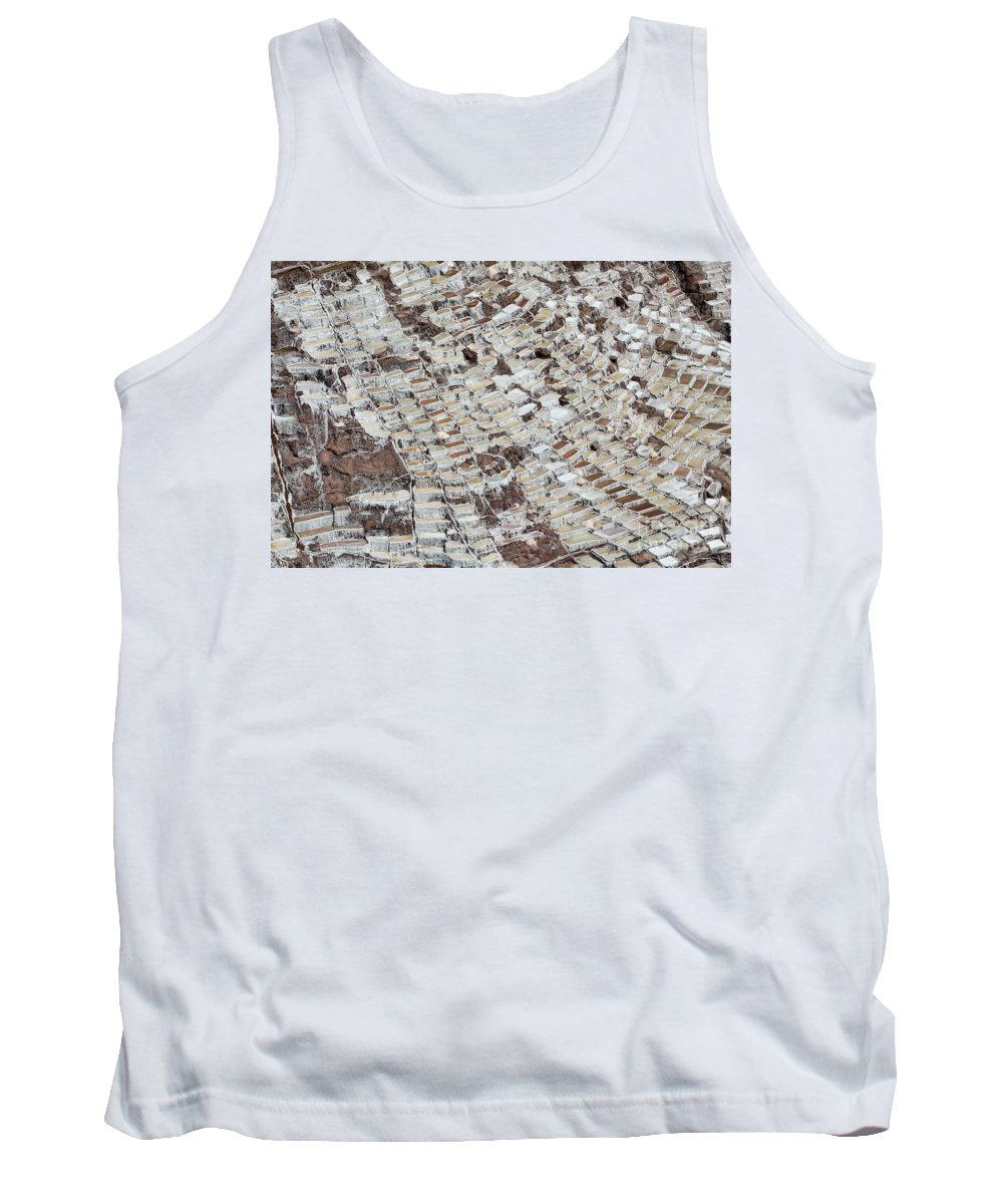 Tank Top featuring the photograph Salineras by Karla Weber