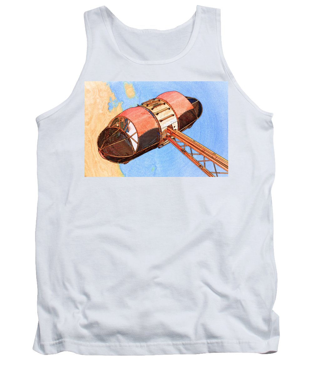 Fun Tank Top featuring the photograph Salt And Pepper by Michael Porchik