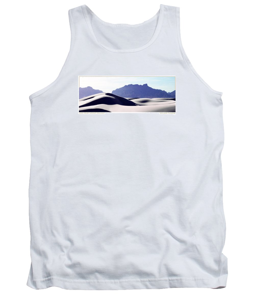Amazing Sexy Image Of A Beautiful Human Lying In The Sun Tank Top featuring the photograph White Sands Natural Anatomy by Jack Pumphrey