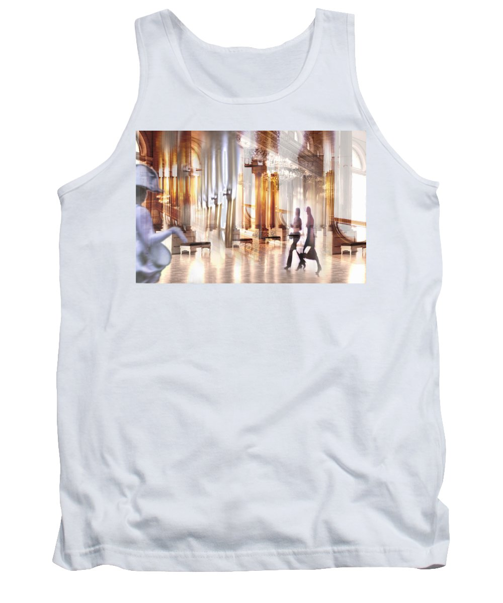 People Tank Top featuring the photograph Secrets Of The Hermitage. by larisa Fedotova