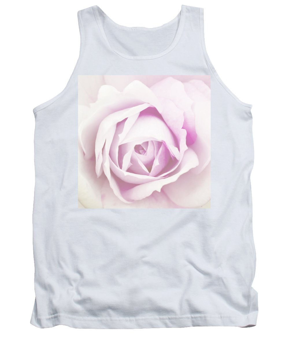 Rose Tank Top featuring the photograph Sensitivity by Alex Art and Photo