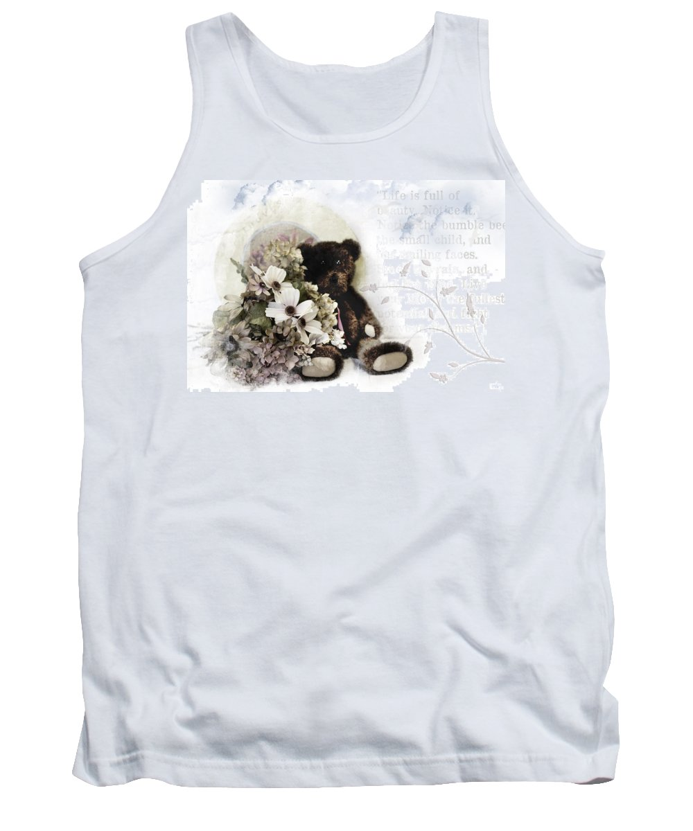 Antique Tank Top featuring the photograph Shabby One by Evie Carrier