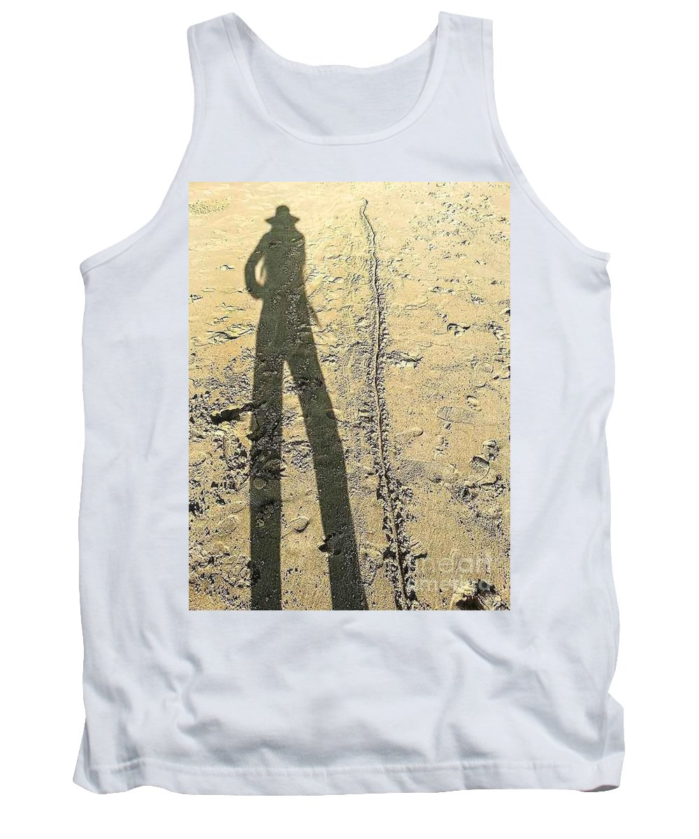 Shadow Tank Top featuring the photograph Shadow No.22 by Fei A