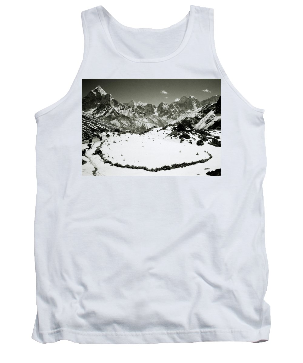 Black And White Tank Top featuring the photograph Inspiration by Shaun Higson