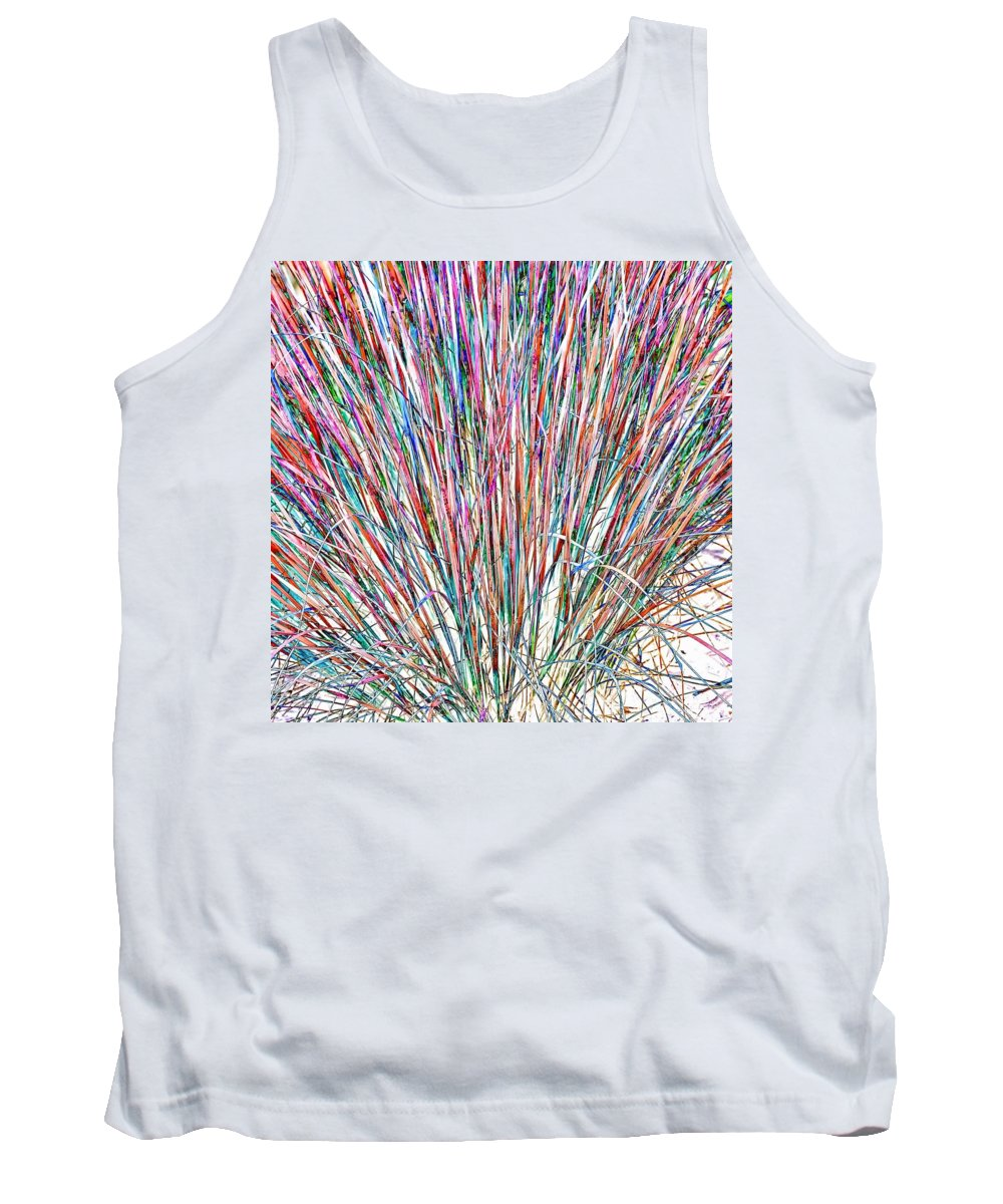 Grasses Tank Top featuring the photograph Simply Grass 2 by Steve Harrington
