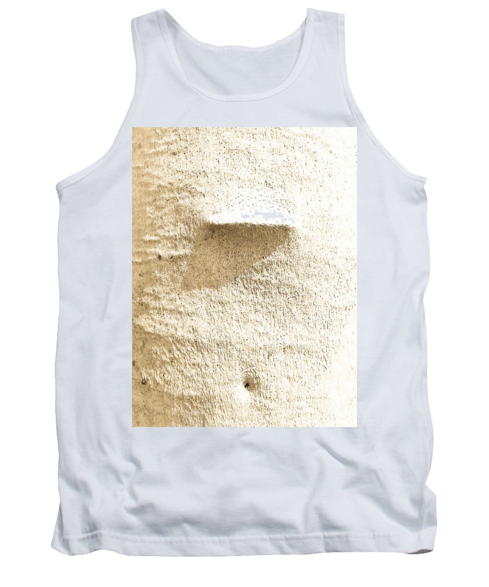 Abstract Tank Top featuring the photograph Skin by Fei A