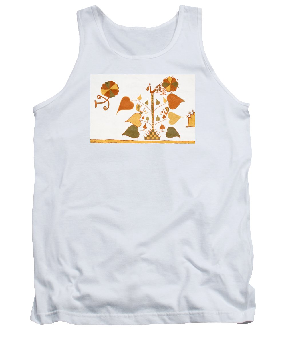 Painting Tank Top featuring the photograph Skn 1399 Painting Media by Sunil Kapadia