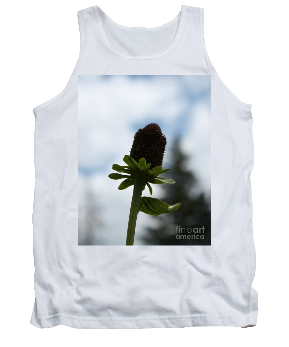 Flower Tank Top featuring the photograph Sky Flower by Brandi Maher