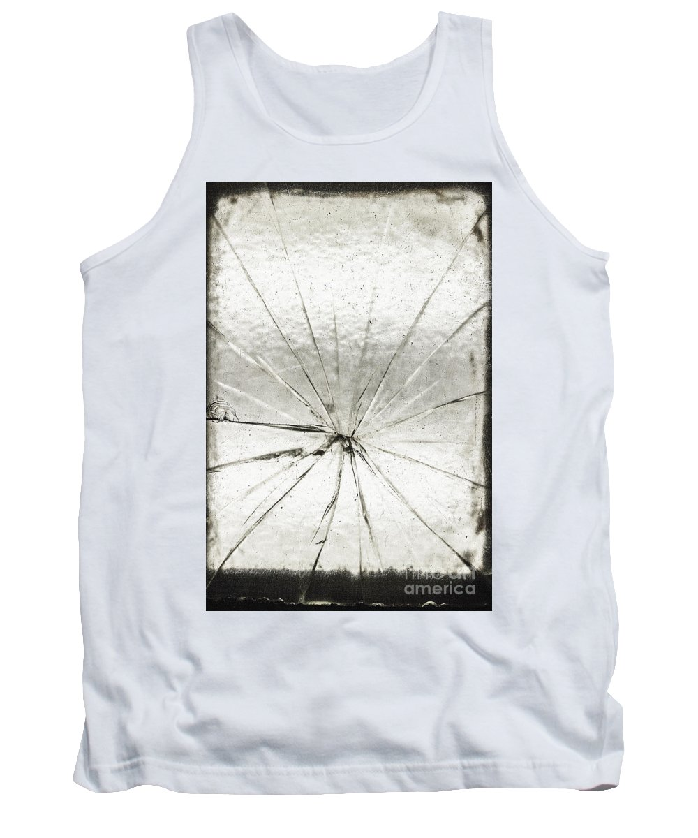 Glass Tank Top featuring the photograph Smashing by Margie Hurwich