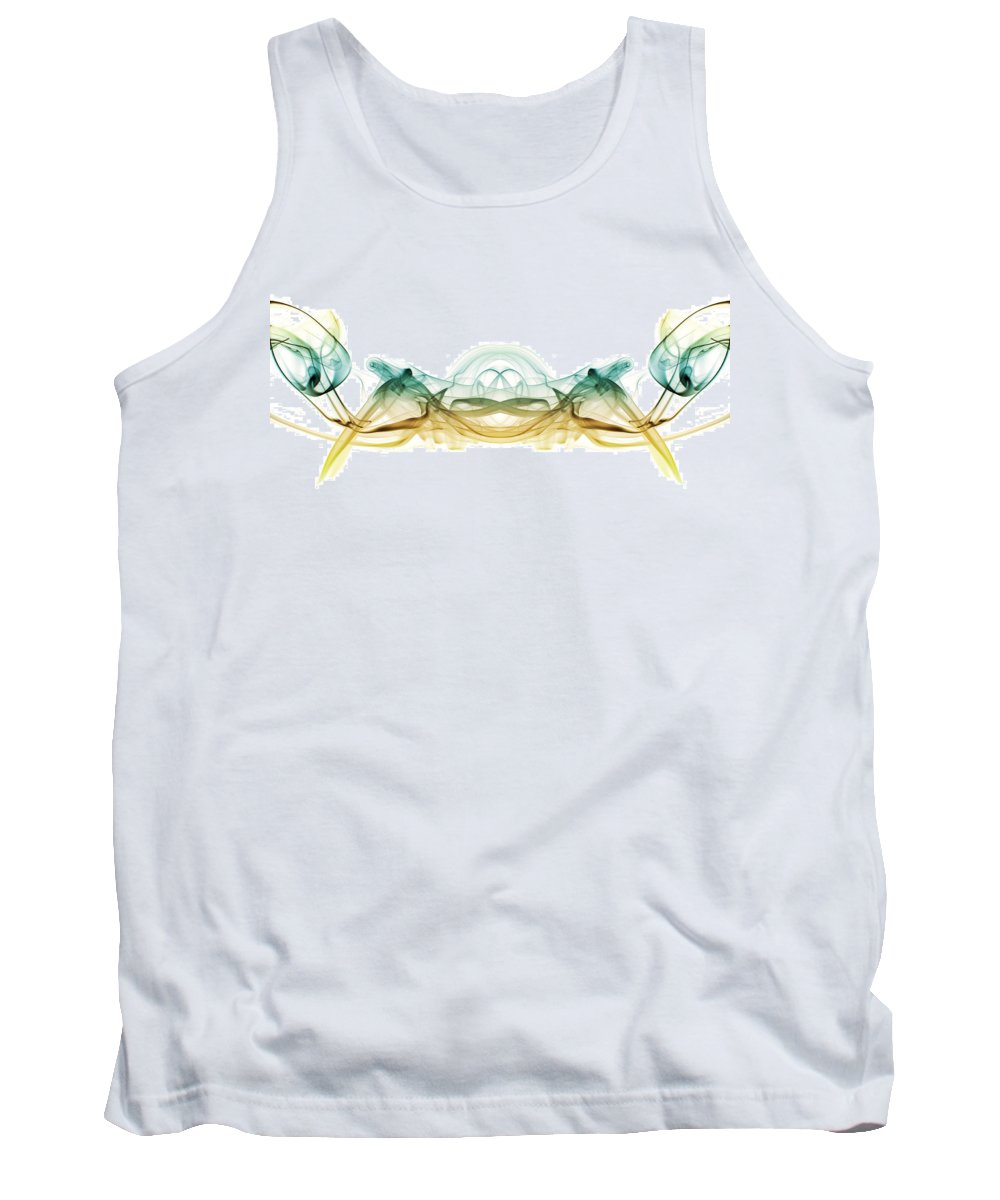 Smoking Trails Tank Top featuring the photograph Smoked Crab 1 by Steve Purnell