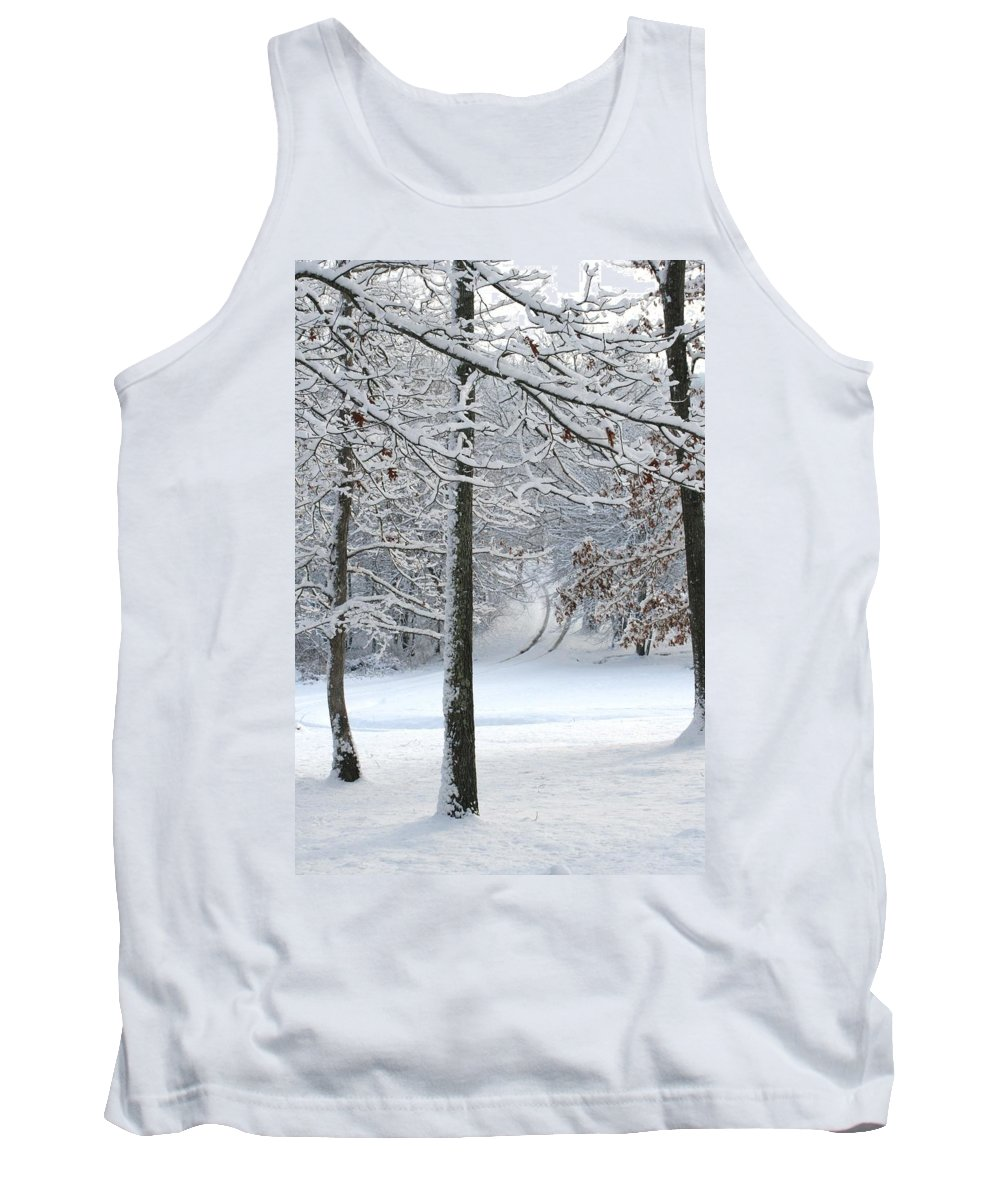 Snow Day Tank Top featuring the photograph Snow Day Iv by Cody Cookston