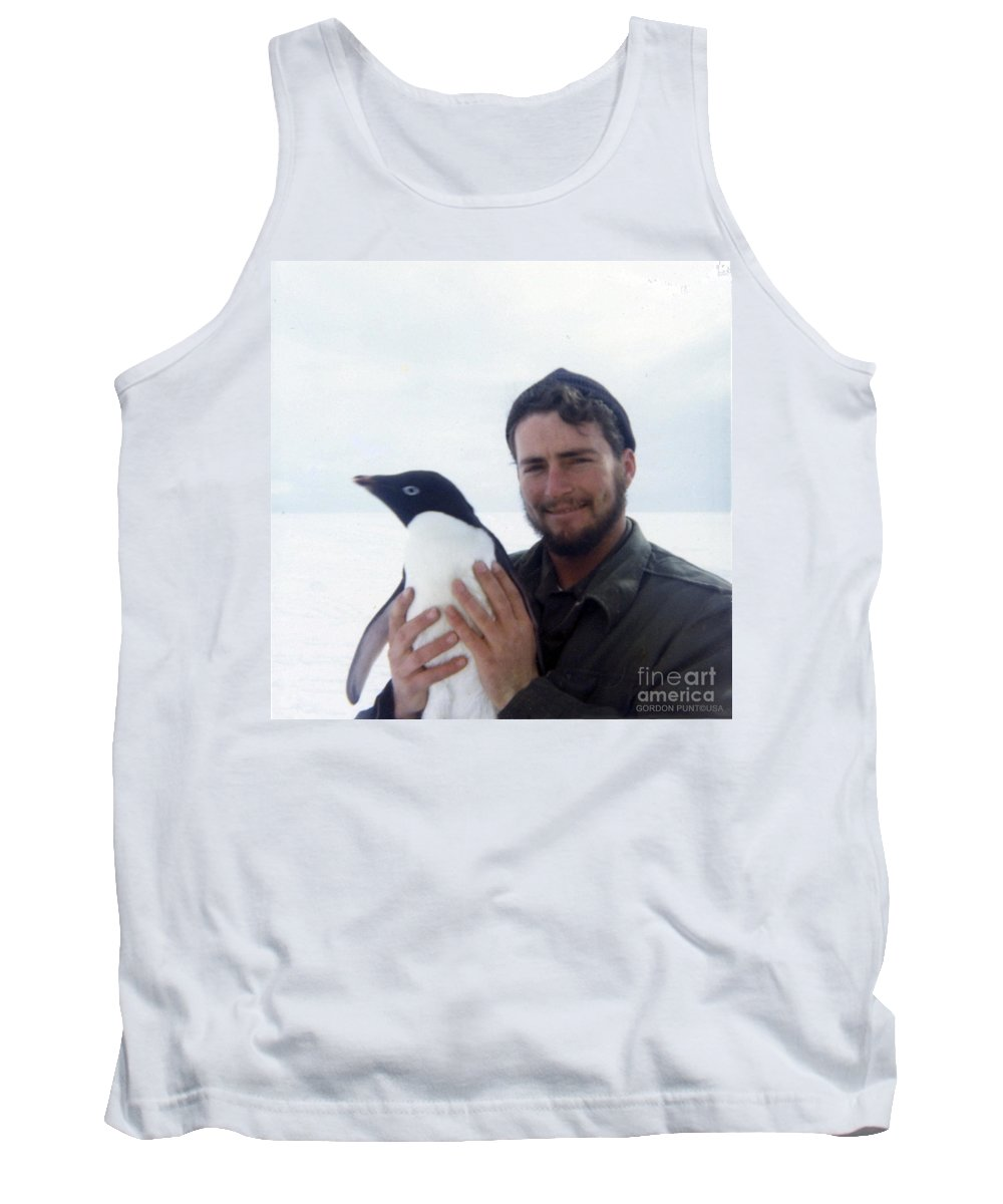 South Pole Tank Top featuring the photograph Southpole-antarctica-photos-3 by Gordon Punt