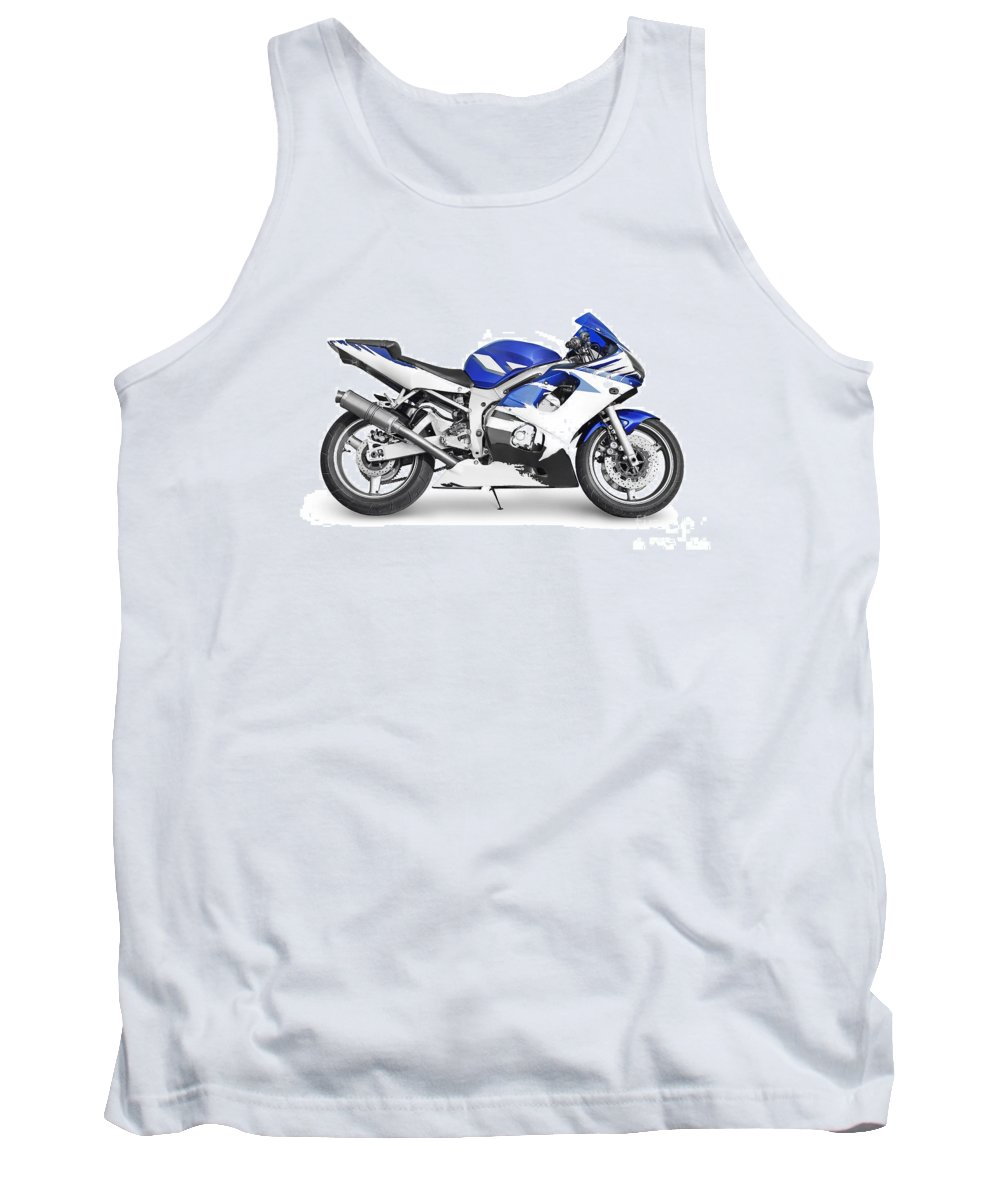 Bike Tank Top featuring the photograph Sport Bike by Cristian M Vela