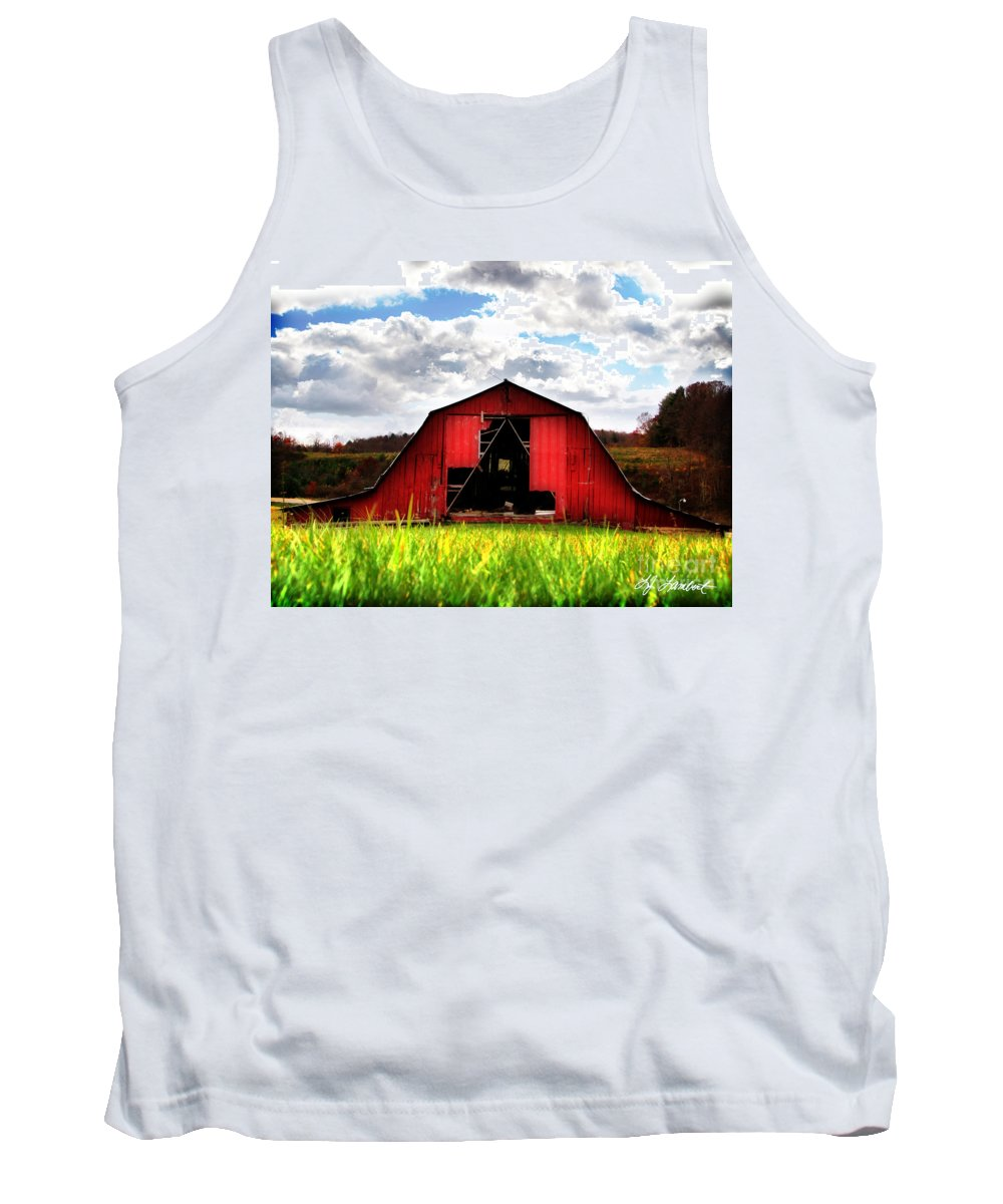 Landscape Tank Top featuring the photograph Spring Fresh by Lj Lambert