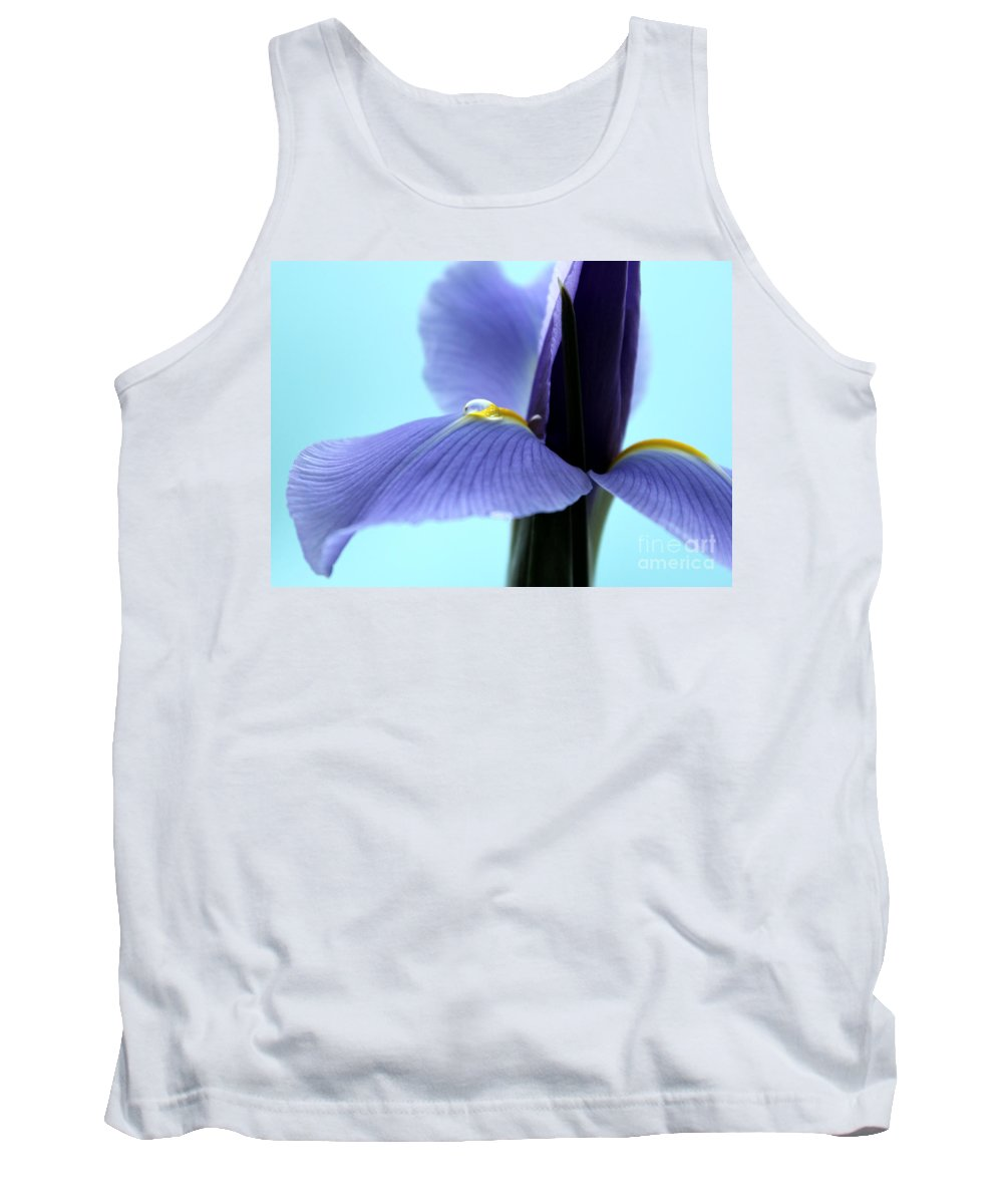 Iris Tank Top featuring the photograph Spring Is In The Air by Krissy Katsimbras