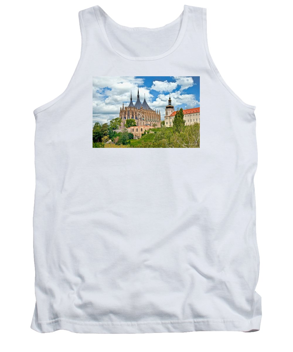 Cruise Tank Top featuring the photograph St Barbara Church Kutna Hora by Leon Roland