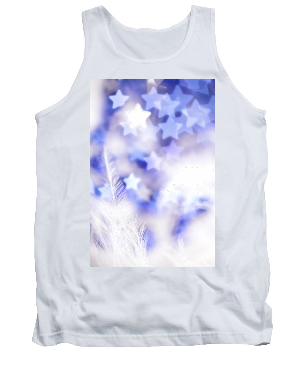 Abstract Tank Top featuring the photograph Stardust by Dazzle Zazz
