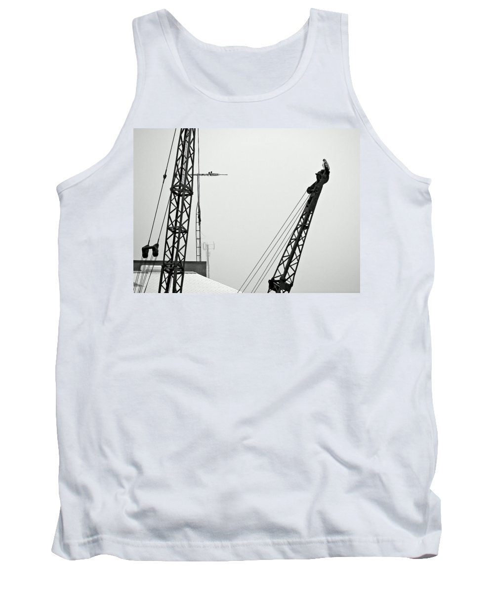 Birds Tank Top featuring the photograph Stare Contest IIi by Steve Harrington