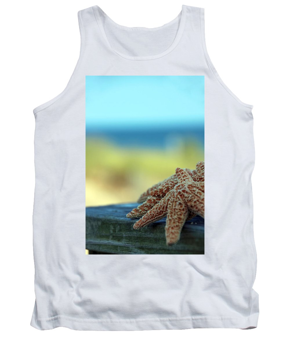 Starfish Tank Top featuring the photograph Starfish 3247 by Carolyn Stagger Cokley