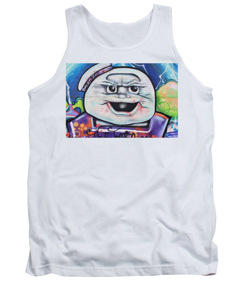 Art Tank Top featuring the photograph Stay Puff by Chuck Hicks