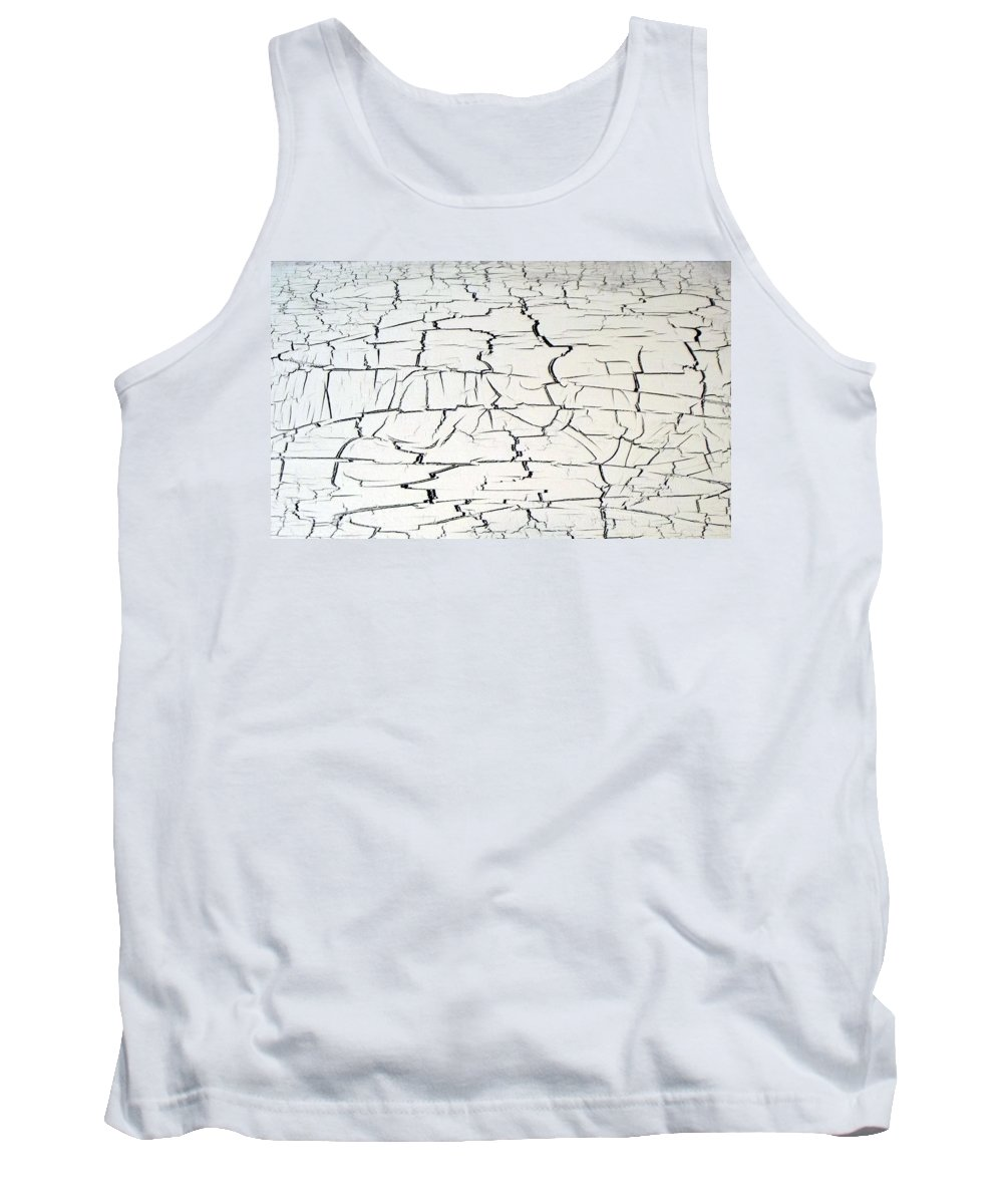 Dire Tank Top featuring the painting Step On A Crack by Daniel Piskorski