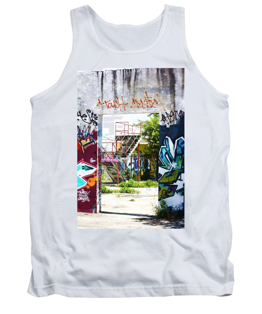 Art Tank Top featuring the photograph Steps by Chuck Hicks