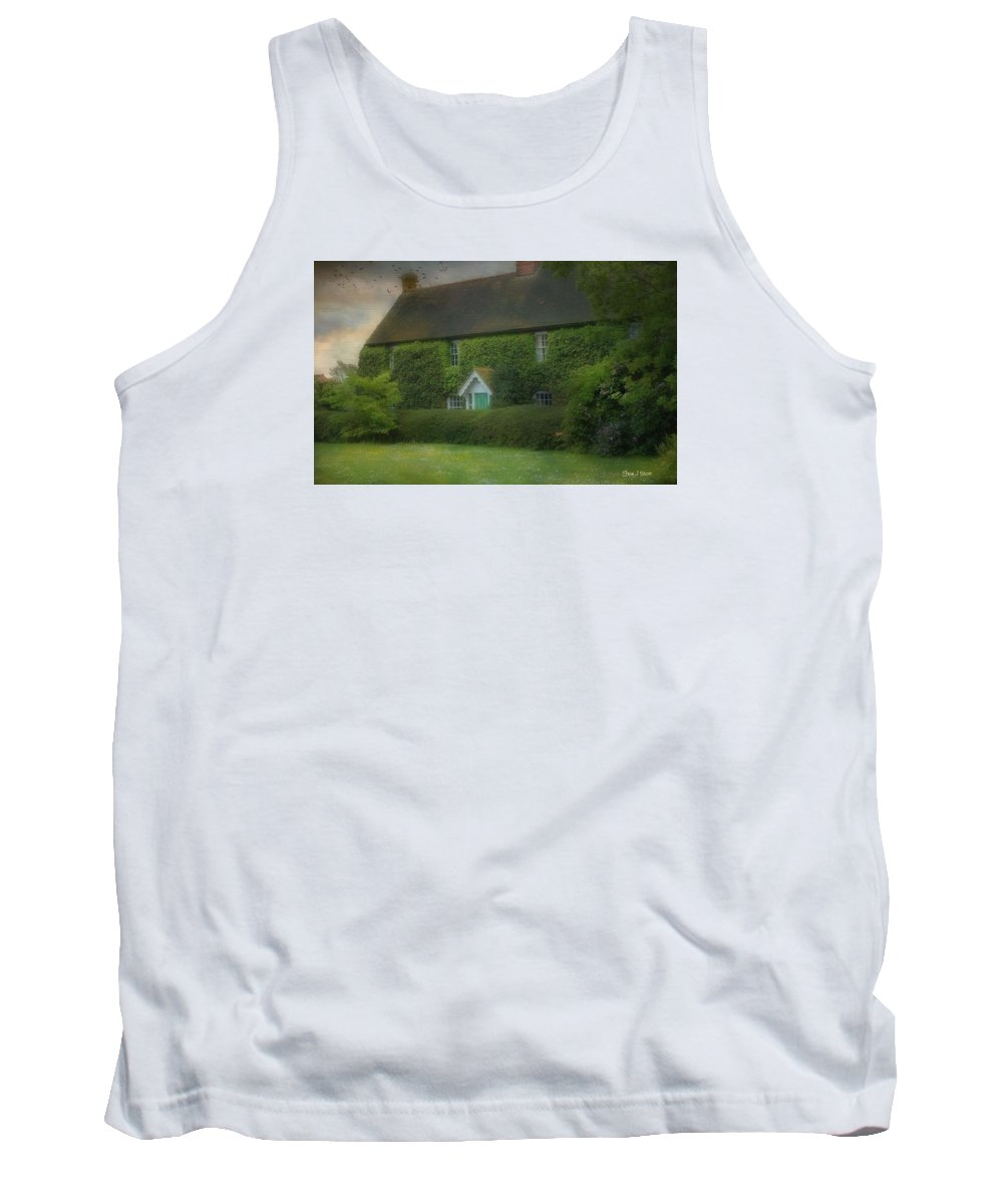 House Tank Top featuring the photograph Stodmarsh House by Fran J Scott