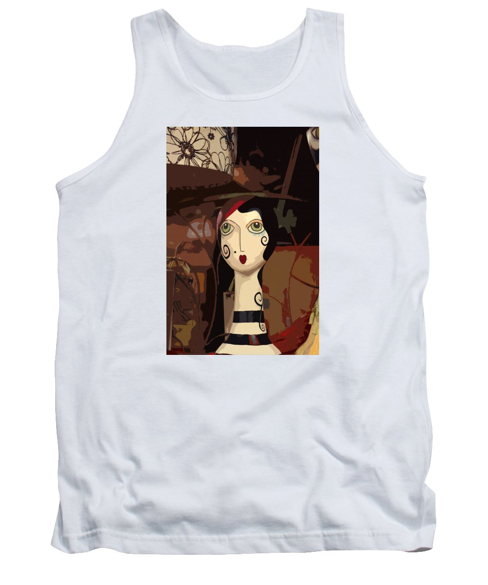 Mannequin Tank Top featuring the photograph Store Mannequin by Art Block Collections