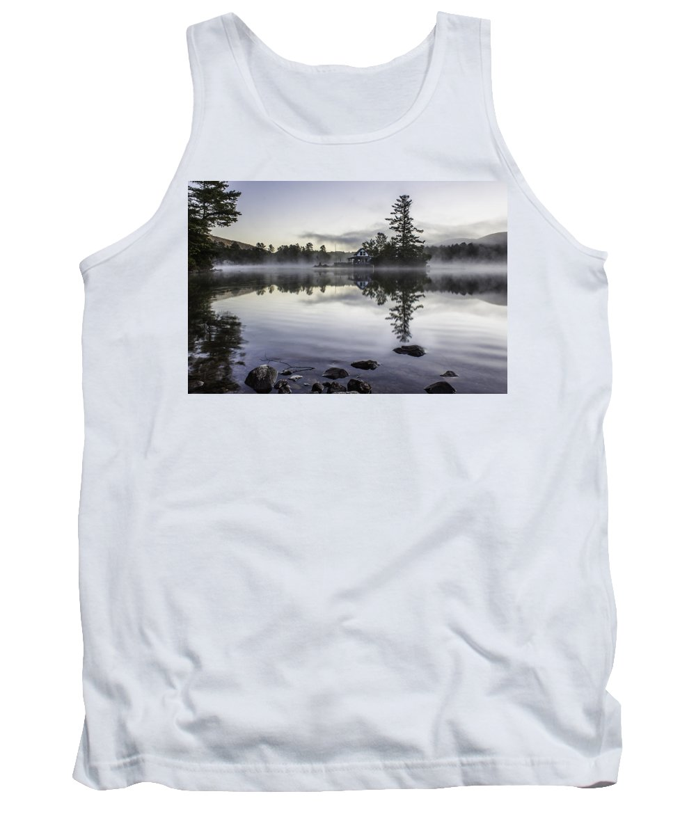 Water Tank Top featuring the photograph Summer's Smoke by Rodeonexis Photography