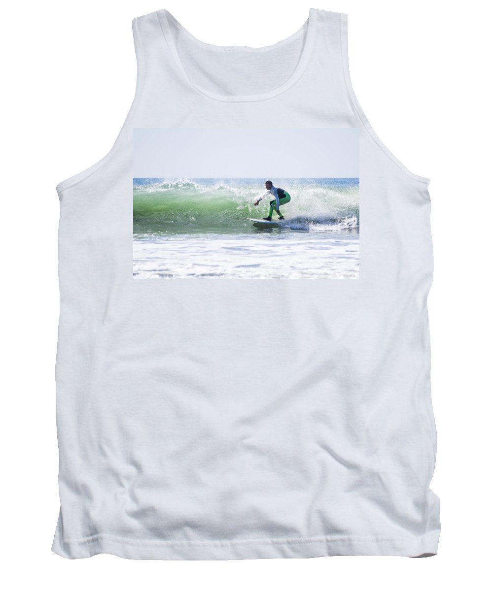 Surf Tank Top featuring the photograph Surf Series 21 by Paula OMalley
