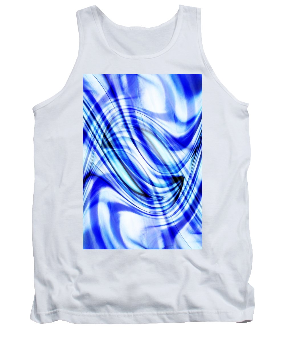 Abstract Designs Tank Top featuring the photograph Swirling Abstract by Chris Knorr