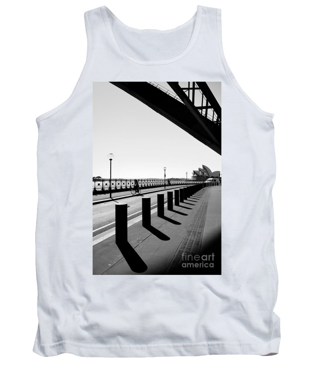 Yewkwang Tank Top featuring the photograph Sydney Opera House 03 by Yew Kwang
