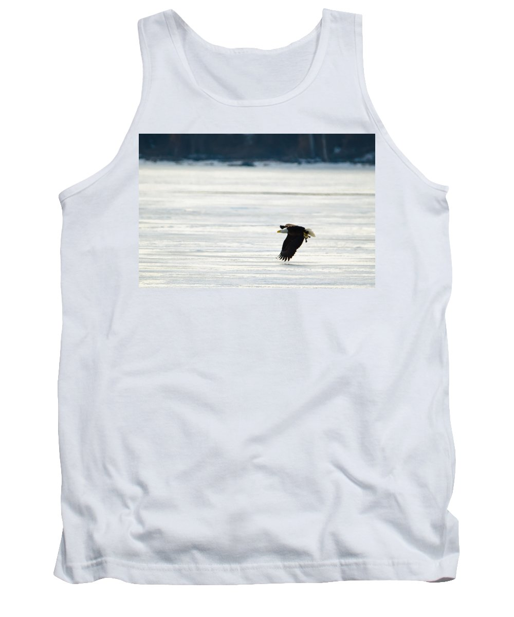 Bird Tank Top featuring the photograph Take Out Duck by Jeff at JSJ Photography