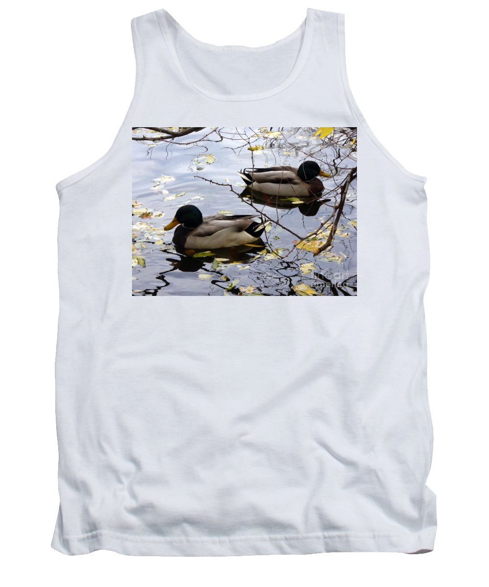 Tank Top featuring the photograph Taking Opposite Directions by Nili Tochner