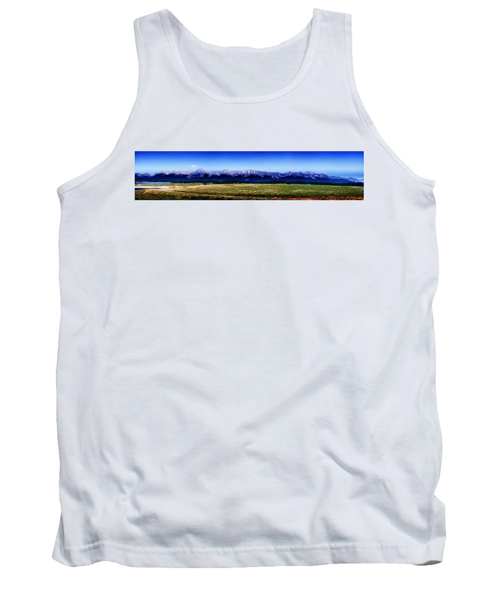 Rockies Tank Top featuring the photograph Taylor Park - Colorado by Ellen Heaverlo