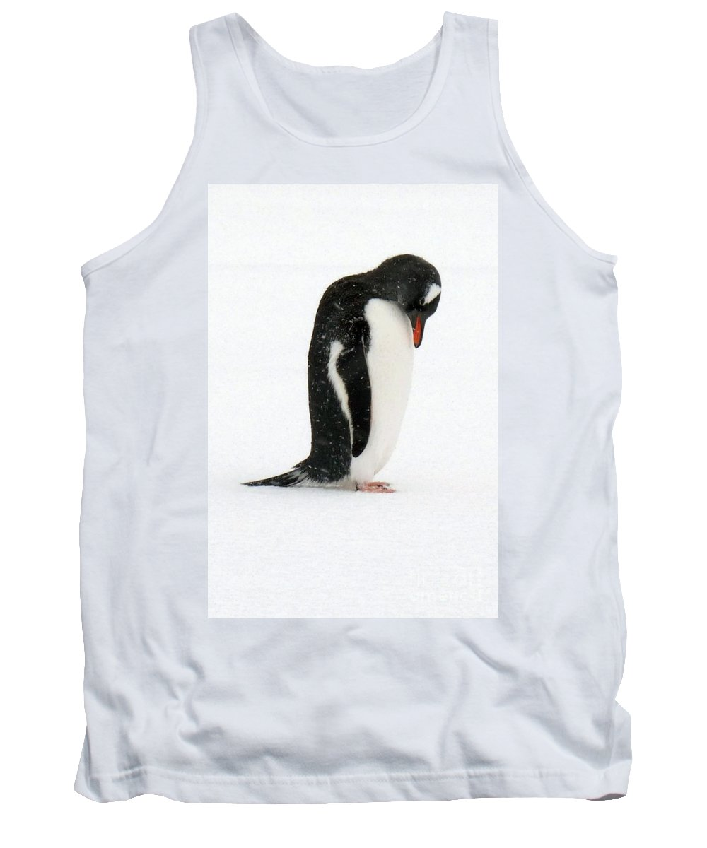 Tank Top featuring the photograph Telephone Bay- Antarctica by Karla Weber