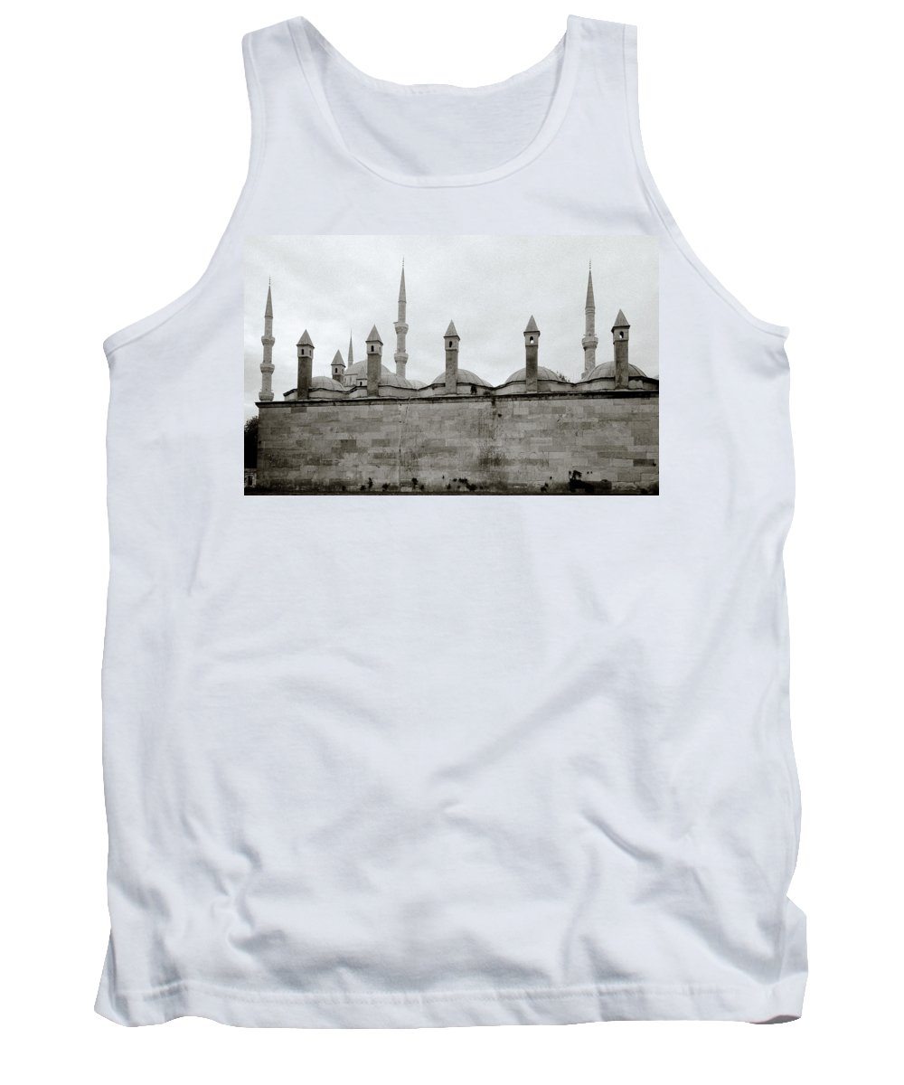Istanbul Tank Top featuring the photograph Ten Minarets by Shaun Higson