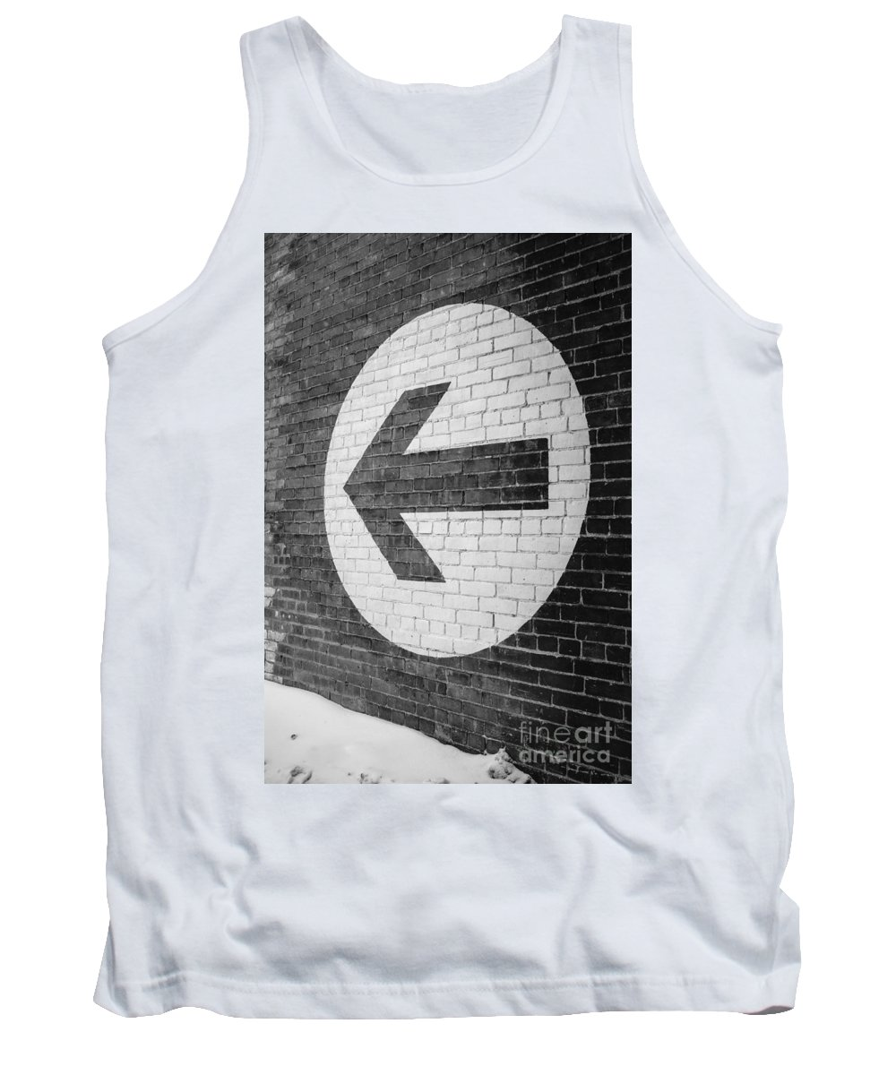 Factory Tank Top featuring the photograph That Way by Edward Fielding