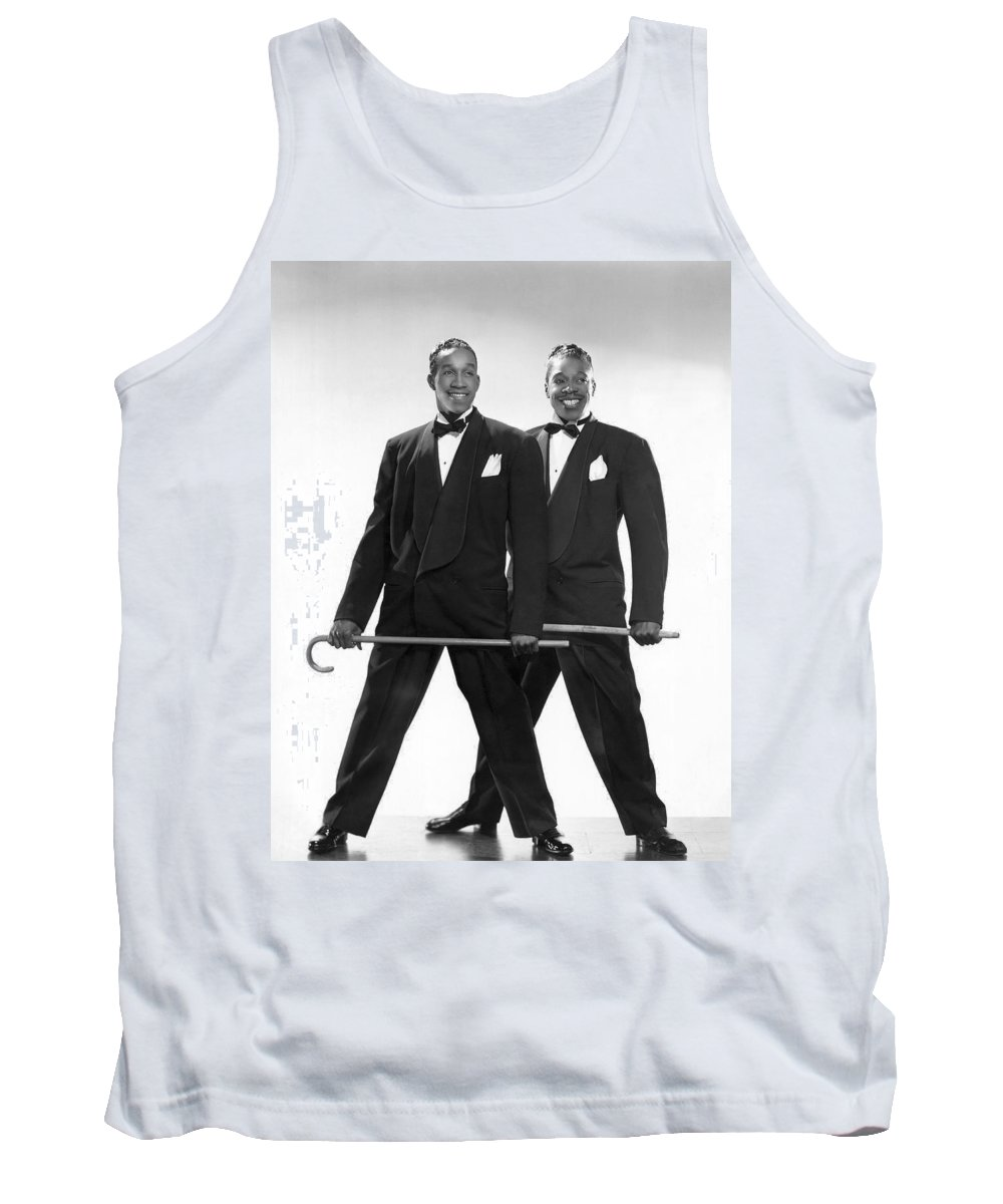 1935 Tank Top featuring the photograph The Berry Brothers Dance Team by Underwood Archives