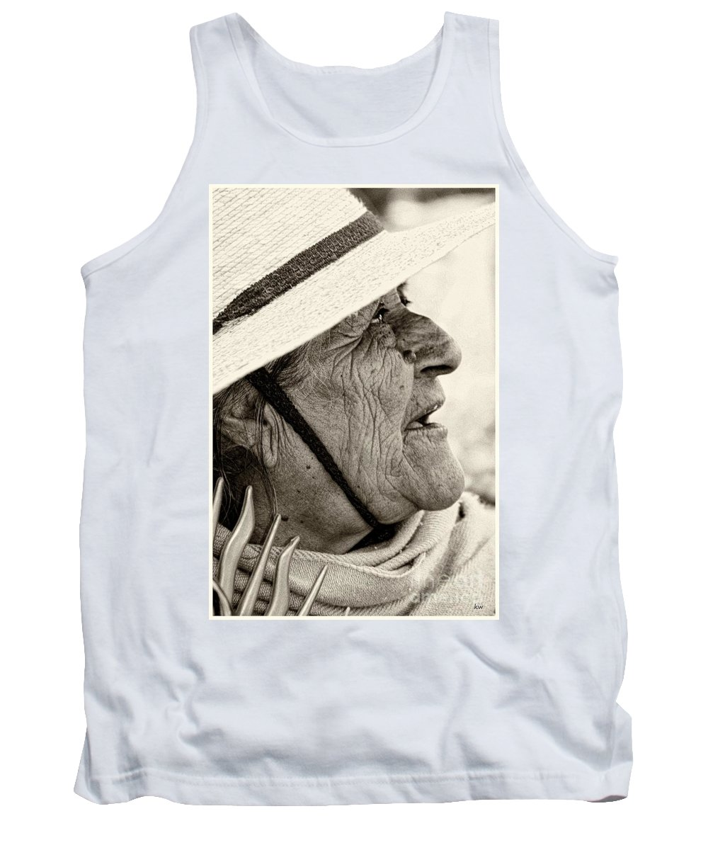 Tank Top featuring the photograph Blessed by Karla Weber