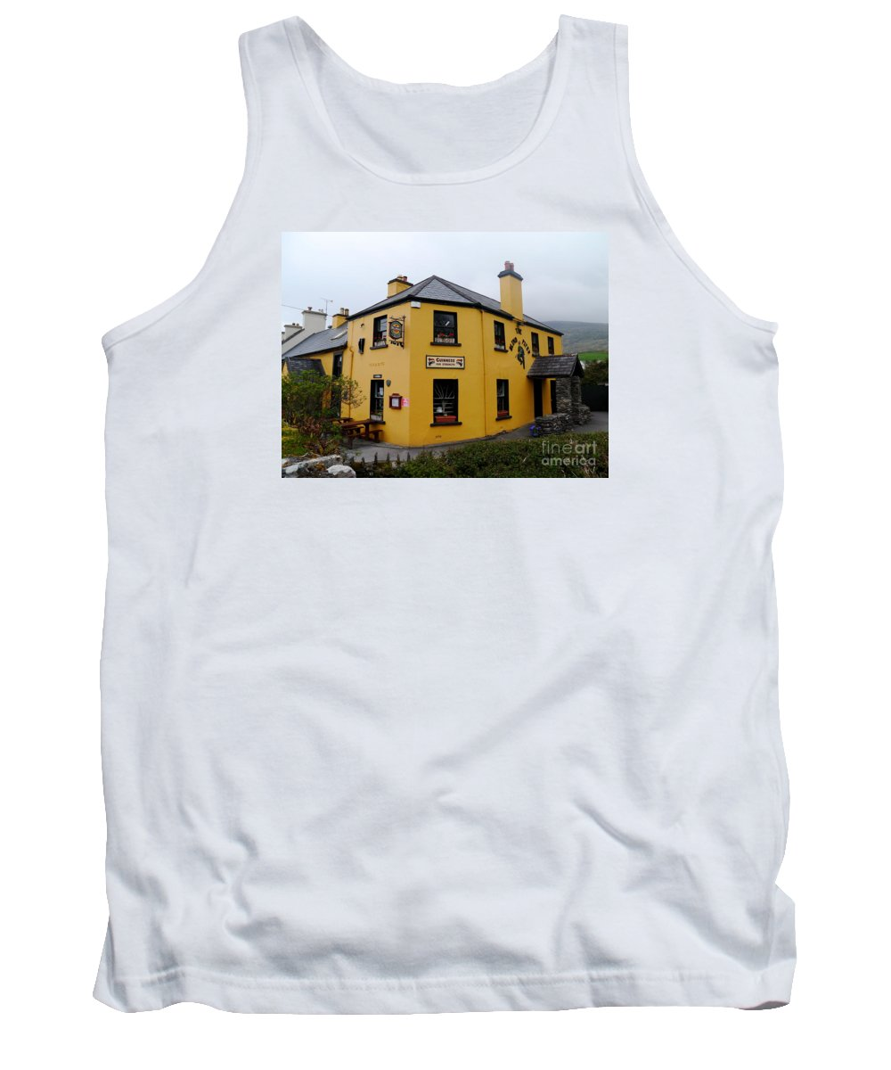 Inn Tank Top featuring the photograph The Blind Piper Pub by Christiane Schulze Art And Photography
