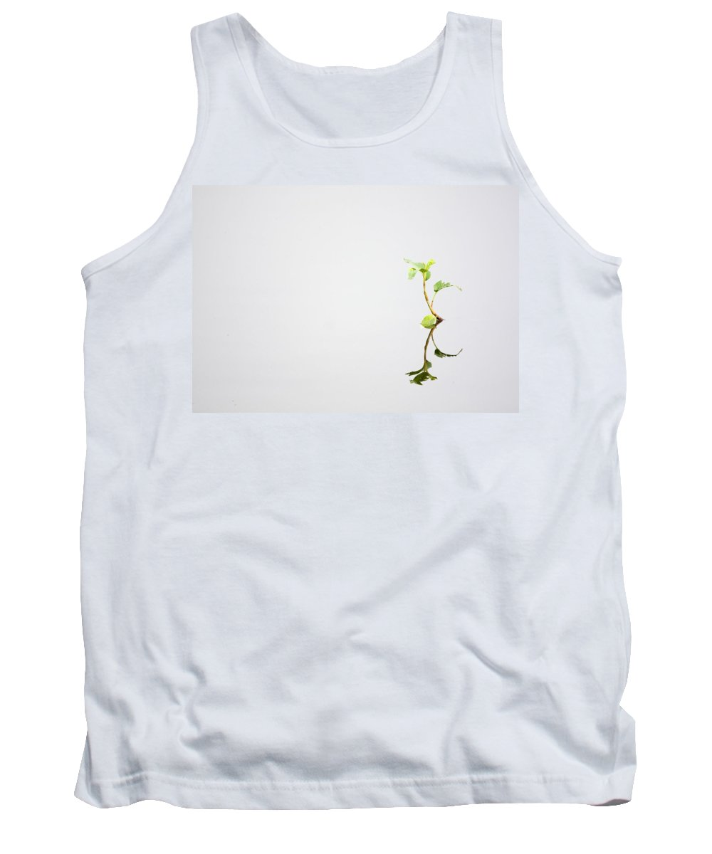 Minimal. Minimalism Tank Top featuring the photograph The Dance by Ru Tover
