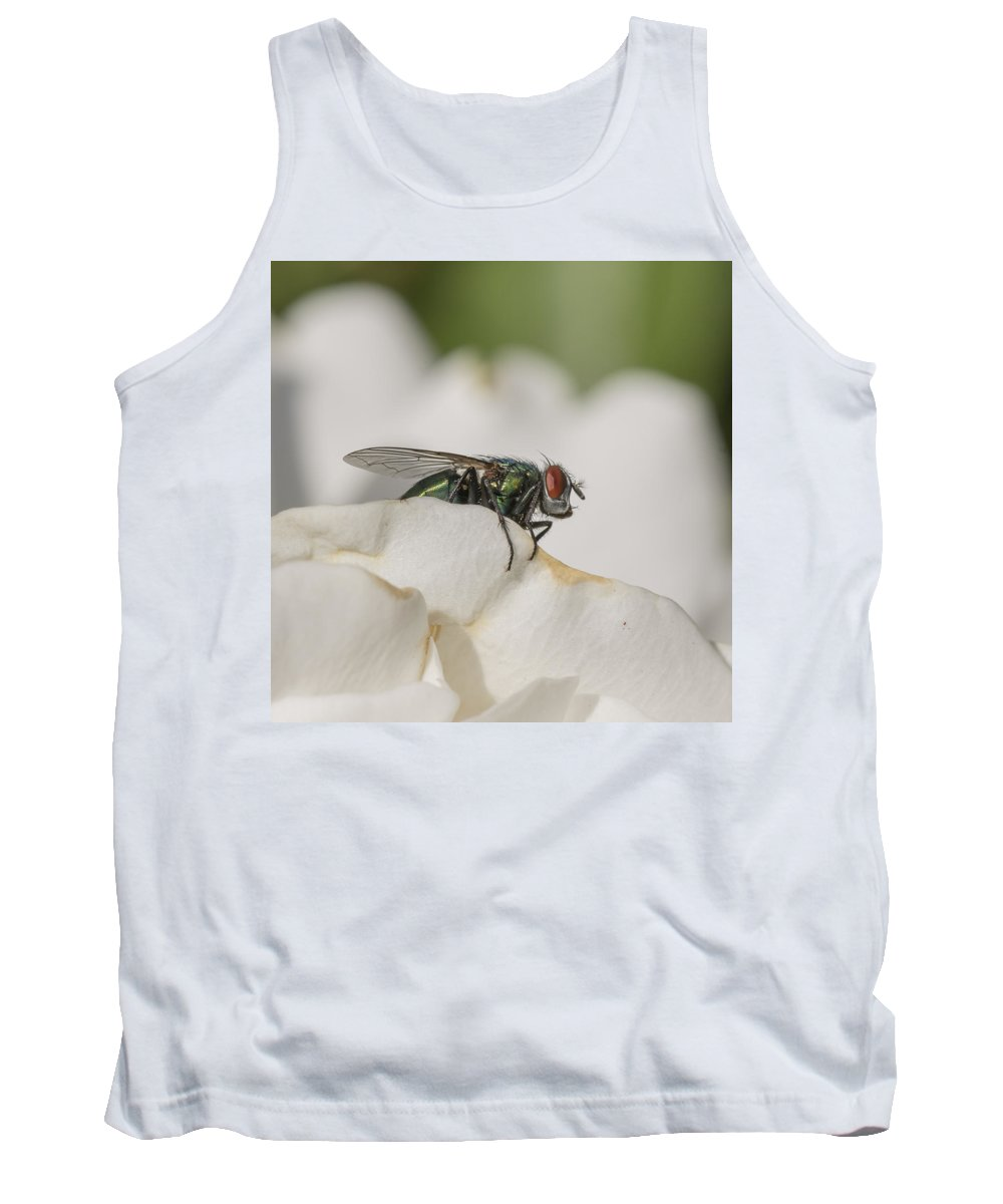 Fly Tank Top featuring the photograph The Fly by Bruce Frye