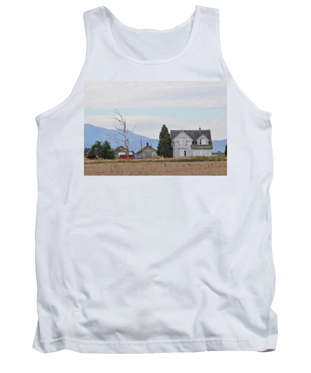 House Tank Top featuring the photograph The Forgotten Home by Image Takers Photography LLC
