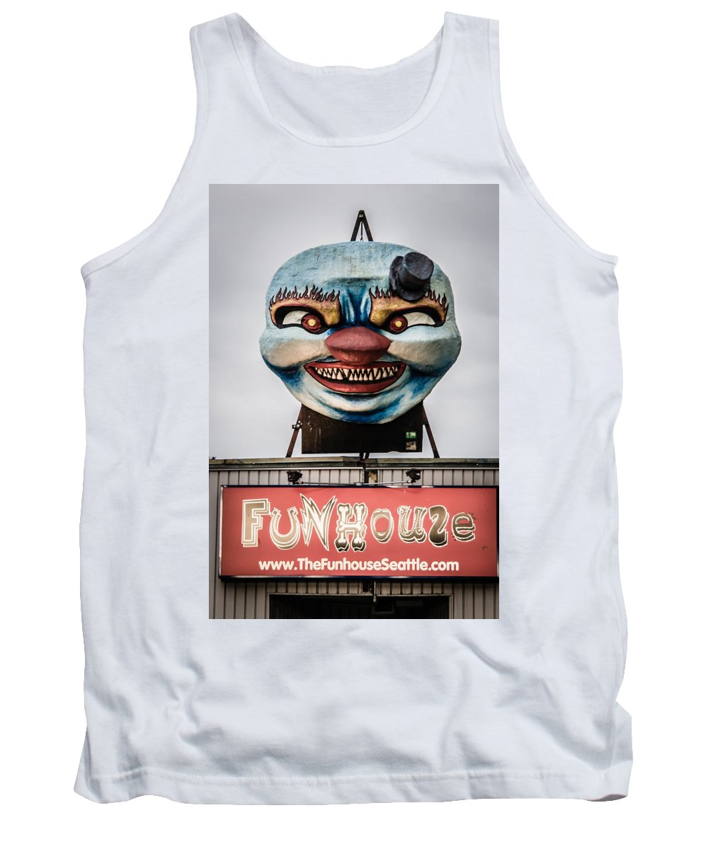 2008 Tank Top featuring the photograph The Funhouse by Melinda Ledsome