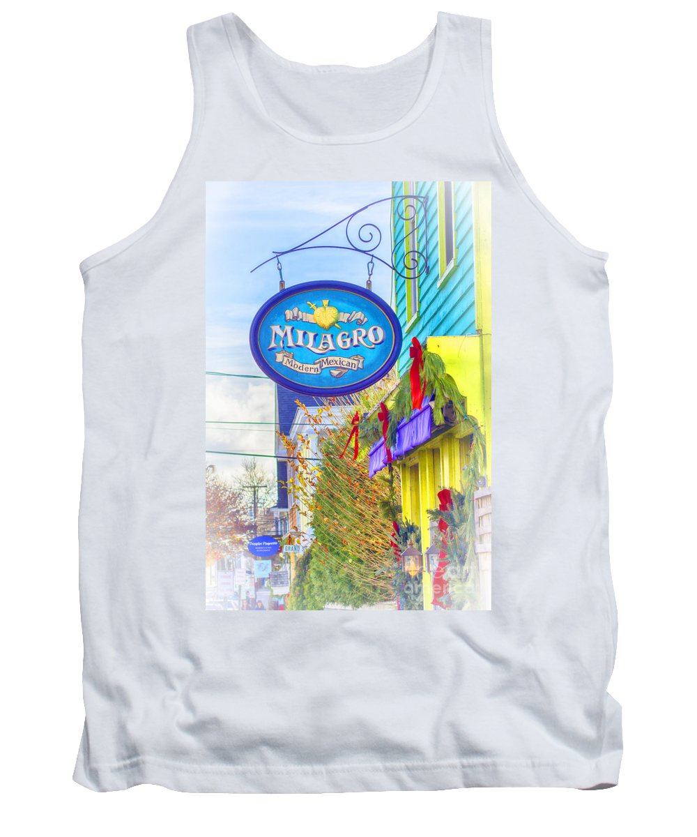 Milagro Tank Top featuring the photograph The Good Stuff by Joe Geraci